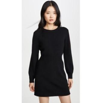 セオリー Theory レディース ワンピース ワンピース・ドレス Rib Waist Sweater Dress Black