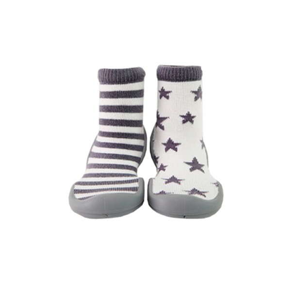 GGOMOOSIN 星星條紋學步鞋/襪鞋 【麗兒采家】