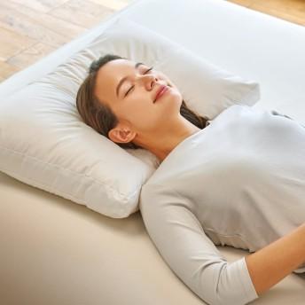 寝る前にマッサージ気分 ネックリラックスピロー 普通判ホワイト