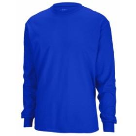 ギルダン Gildan メンズ 長袖Tシャツ トップス Team 50/50 Dry-Blend Long Sleeve T-Shirt Royal
