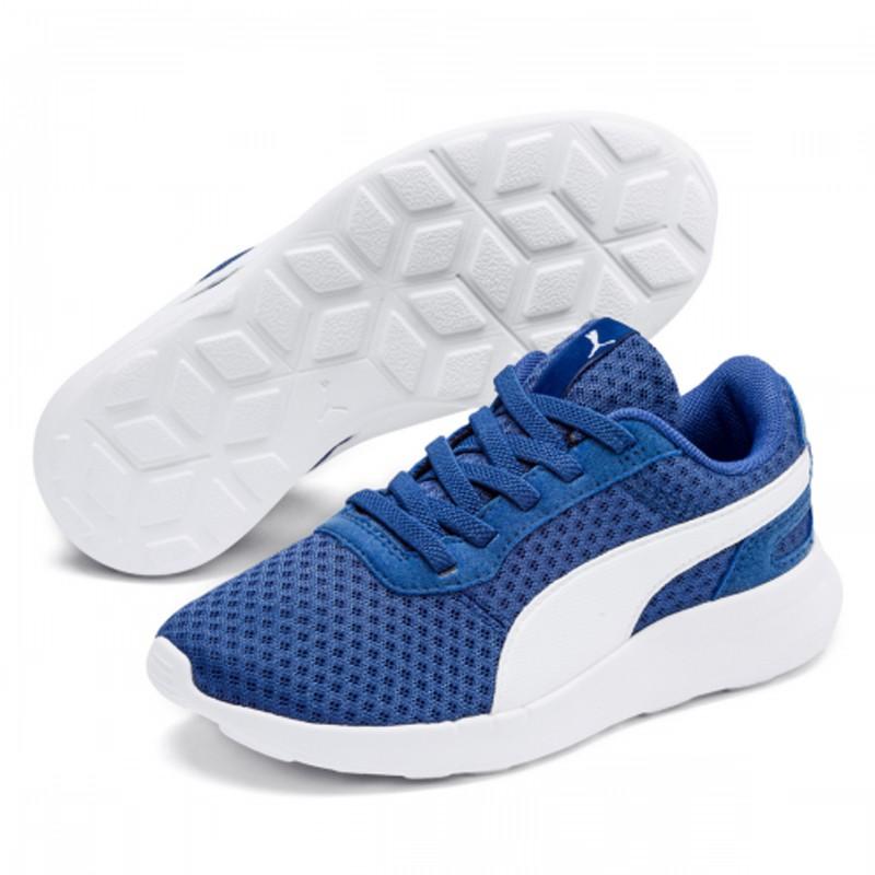 PUMA ST Activate 童鞋 中童 慢跑 網布 休閒 透氣 藍【運動世界】 36907008