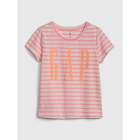 Gap ラメGapロゴ ストライプTシャツ (幼児)
