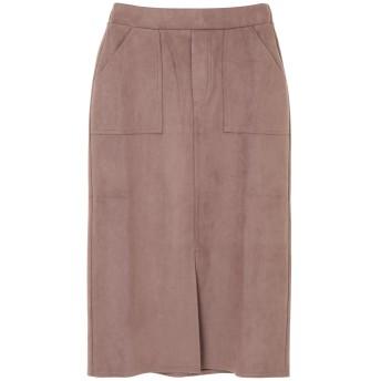 ・RAY CASSIN ポンチスエードスカート