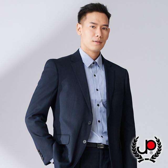【極品名店】商務沉穩品味彈力西裝外套_黑(AW738-3G)