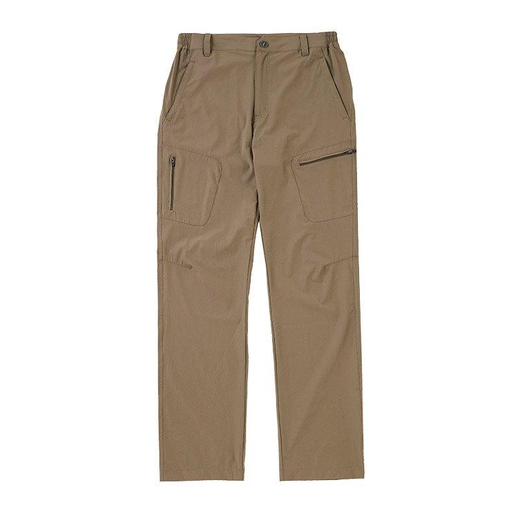 ADISI 男  兩側貼袋彈性快乾休閒長褲  AP2091010-1  3XL