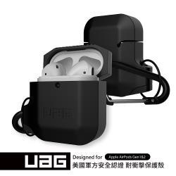 UAG AirPods 耐衝擊防水防塵保護殼-極黑