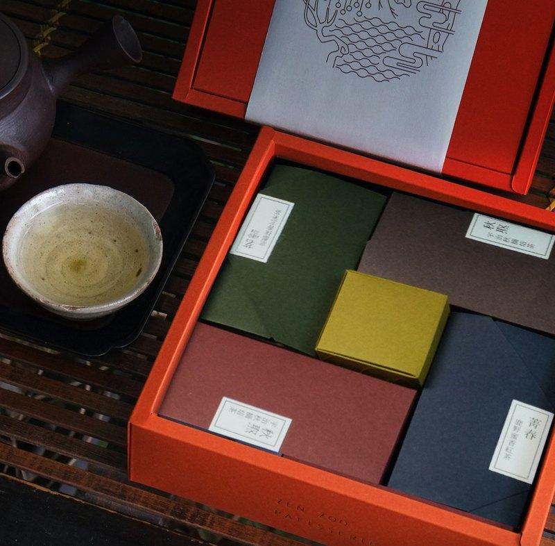 茗茶禮盒 | 菁春・沁安・秋焣・茗雪・青嵐