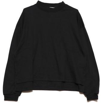 ジーラ GeeRA 【WEB限定】ハイネックボリュームロンT (ブラック)