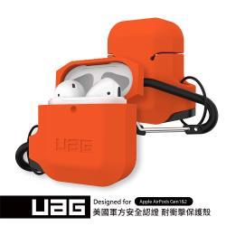 UAG AirPods 耐衝擊防水防塵保護殼-橘