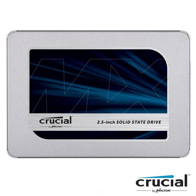 Micron 美光 MX500 250GB 500GB 1TB SSD 2.5吋 固態硬碟 五年保 PS4可用