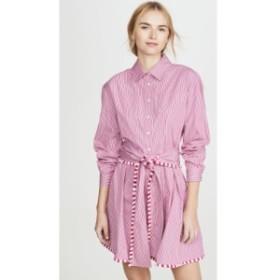 デレク ラム Derek Lam 10 Crosby レディース ワンピース シャツワンピース ワンピース・ドレス Iona Belted Shirt Dress Vibrant Pink