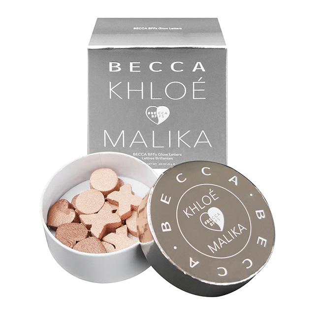 【Becca】xo打亮字母 BECCA x Khloe Kardashian & Malika Haqq BFFs Glow Letters(28oz/8g)