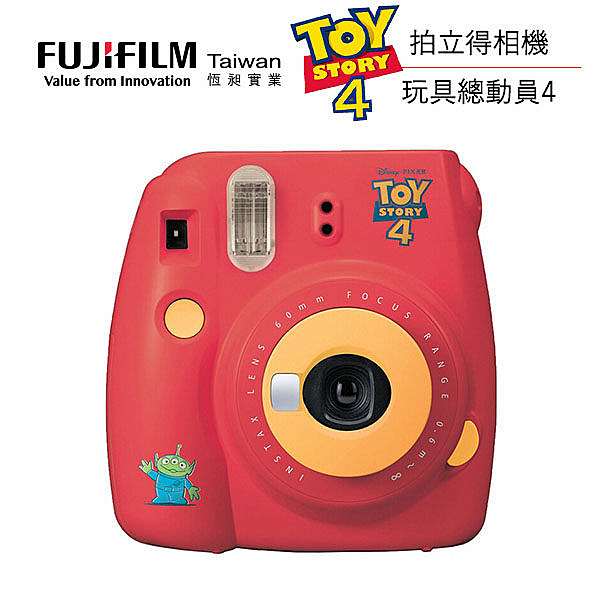 限時下殺 富士 FUJIFILM instax mini 9 拍立得 ToyStory4 玩具總動員 公司貨 高雄 晶豪泰3C 專業攝影