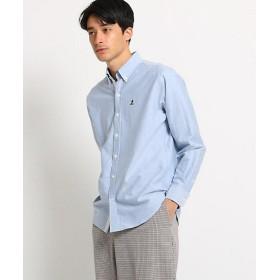 【SALE(三越)】<Dessin/デッサン> ヨットオックスフォードボタンダウンシャツ(2001582962) アオ【三越・伊勢丹/公式】
