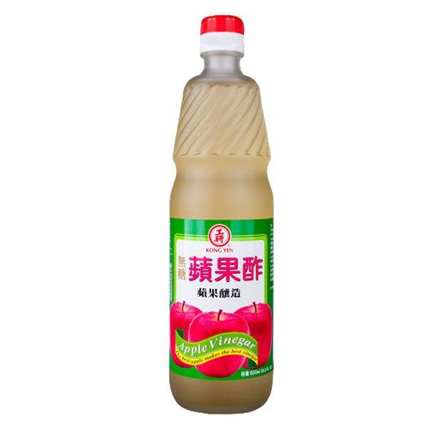 工研 無糖蘋果酢 600ml【康鄰超市】