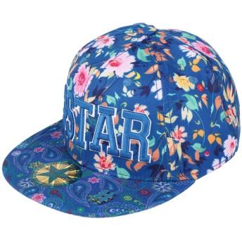 《セール開催中》SHOP ★ ART メンズ 帽子 ブルー M コットン 100%