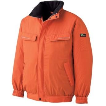 ミドリ安全 ベルデクセル 防寒ブルゾン オレンジ M VE1024−UE−M 1着 (お取寄せ品)