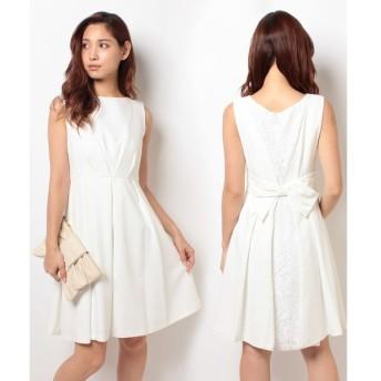 【フォルムフォルマ】【ウェディングドレス】バックスタイル ショートウェディングドレス