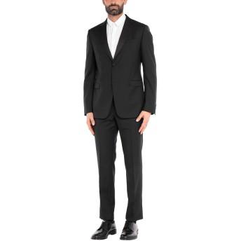 《セール開催中》ZZEGNA メンズ スーツ ブラック 50 ウール 100%