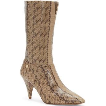 [ルイスエシー] レディース ブーツ&レインブーツ Winslow Snake Print Leather Pointed Toe [並行輸入品]