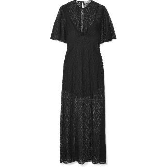 《セール開催中》LES RVERIES レディース ロングワンピース&ドレス ブラック 6 ナイロン 100%