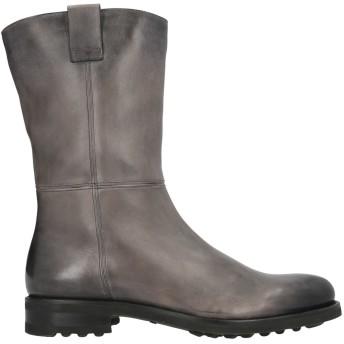 《セール開催中》SANTONI メンズ ブーツ 鉛色 8.5 革