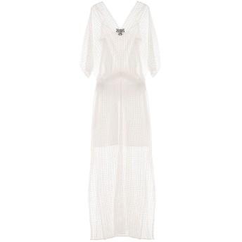 《セール開催中》CLIPS レディース ロングワンピース&ドレス ホワイト M ポリエステル 100%