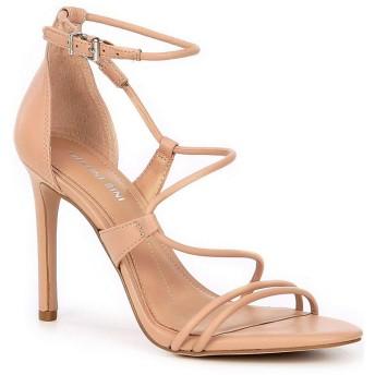 [ジアーニビニ] レディース サンダル Kameela Leather Strappy Dress Sandals [並行輸入品]