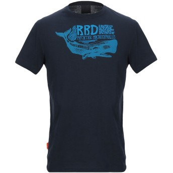 《セール開催中》RRD メンズ T シャツ ダークブルー 48 コットン 100%