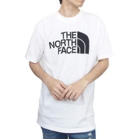 [ザ・ノースフェイス] THE NORTH FACE Tシャツ メンズ S/S HALF DOME TEE ハーフドーム USライン アウトドア [NF0A46ZR] S WHITE [並行輸入品]