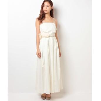 【フォルムフォルマ】【ウェディングドレス】ベアトップ ロングウェディングドレス