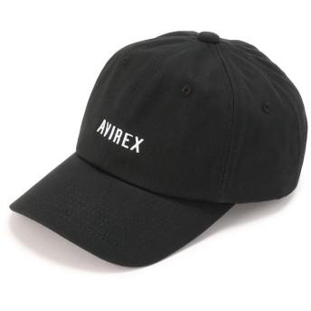 アヴィレックス WOMEN'S/アジャスターロゴキャップ/AJUSTER LOGO CAP レディース BLACK F 【AVIREX】