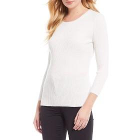 [アントニオメラニー] レディース Tシャツ Laura Ribbed Knit Crew Neck Top [並行輸入品]