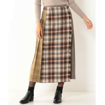 SCAPA Lサイズ / スキャパエルサイズ ハイランドツィードスカート