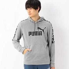 プーマ(PUMA) 【プーマ】メンズスウェットジャケット(AMPLIFIED フーディスウェット)【03グレー/L】