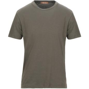 《セール開催中》OBVIOUS BASIC メンズ T シャツ ミリタリーグリーン S コットン 100%