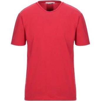 《セール開催中》DANIELE ALESSANDRINI メンズ T シャツ レッド S コットン 100%