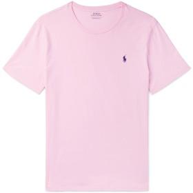 《セール開催中》POLO RALPH LAUREN メンズ T シャツ ピンク XL コットン 100%