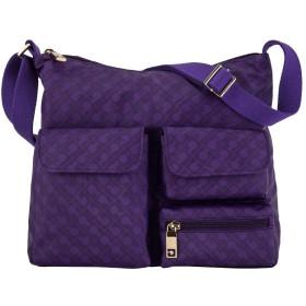 [ ゲラルディーニ ] Gherardini ショルダーバッグ SOFTY レディース 斜め掛け バッグ ポケット 軽量 女性 GH0332 Royal Purple ソフティ A4 通勤 ビジネス [並行輸入品]