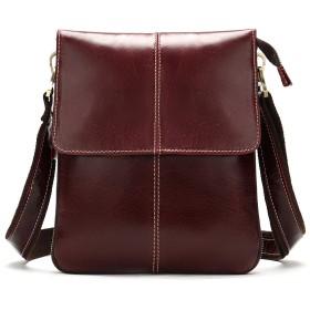 ショルダーバッグ メンズ 本革 ブリーフケース ハンドバッグ ワンショルダーバッグ 2ways 斜めがけ メンズバッグ 通勤 革 ビジネス レザー カバン 鞄
