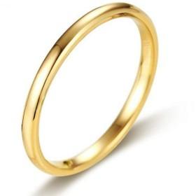 【T.F&Inc.】 [ティーエフ] リング レディース メンズ シンプル 14号 ゴールド 指輪 タングステン ブランド