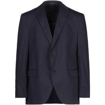 《セール開催中》DALTON & FORSYTHE メンズ テーラードジャケット ダークブルー 60 コットン 99% / ポリウレタン 1%