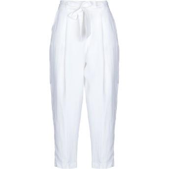 《セール開催中》I BLUES レディース パンツ ホワイト 46 レーヨン 72% / ラミー 28%