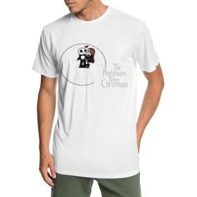 ナイトメアー・ビフォア・クリスマス Tシャツ 半袖 サラリーマン シンプル 通学 丸首 四季 S~6XL 柔らかい おしゃれ メンズ