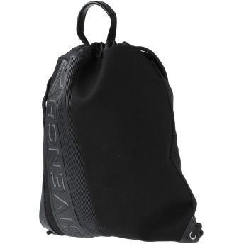 《セール開催中》GIVENCHY メンズ バックパック&ヒップバッグ ブラック 牛革(カーフ) 100% / 紡績繊維