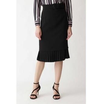 PINKY & DIANNE / ピンキーアンドダイアン ダブルクロス裾プリーツスカート