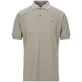 《セール開催中》LACOSTE メンズ ポロシャツ ミリタリーグリーン 3 コットン 100%