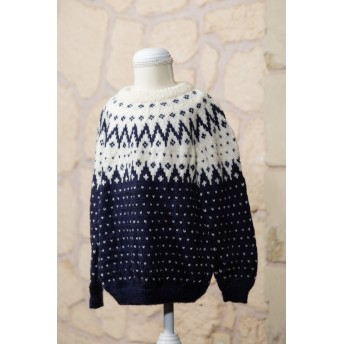 『値下げ中』子供用 手編みセーター5