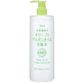 【お一人様1個限り特価】 熊野油脂 ディブ オリーブ & アルガンオイル 化粧水 500ml