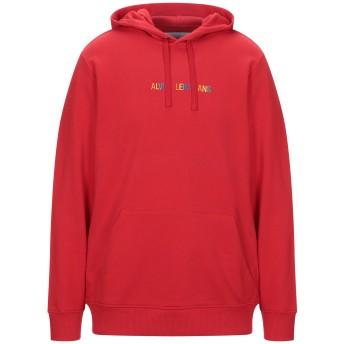 《セール開催中》CALVIN KLEIN JEANS メンズ スウェットシャツ レッド L コットン 100%